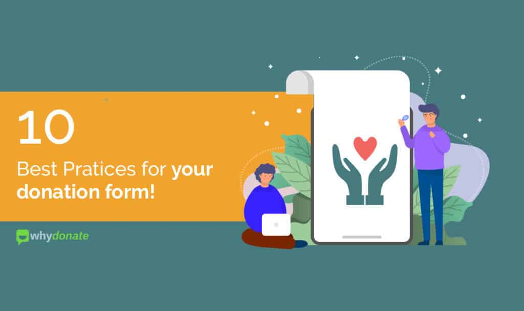 Online fundraising 10 Best Practices for your Donation Form