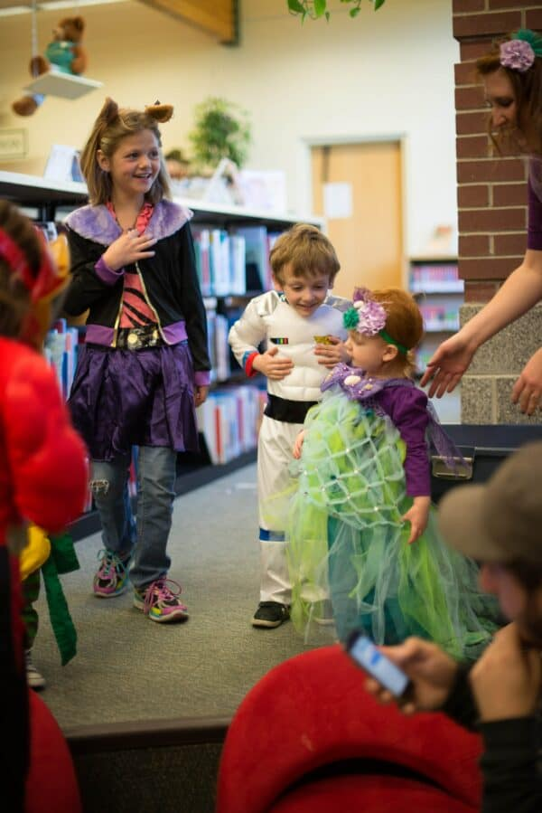 Fundraising for child care centres - Kids dress up