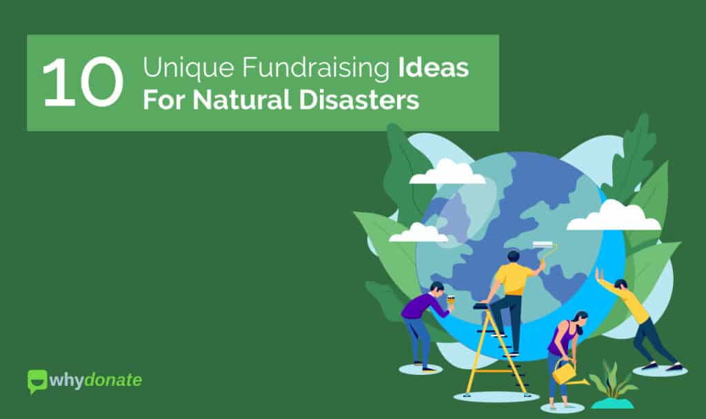 Fundraising for natural disasters